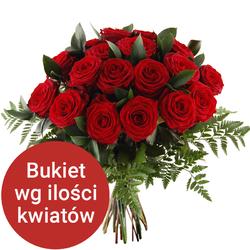 Bukiet 12 róż Telekwiaciarnia